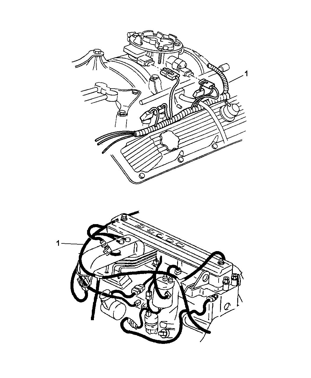 Genuine Mopar WIRING-ENGINE