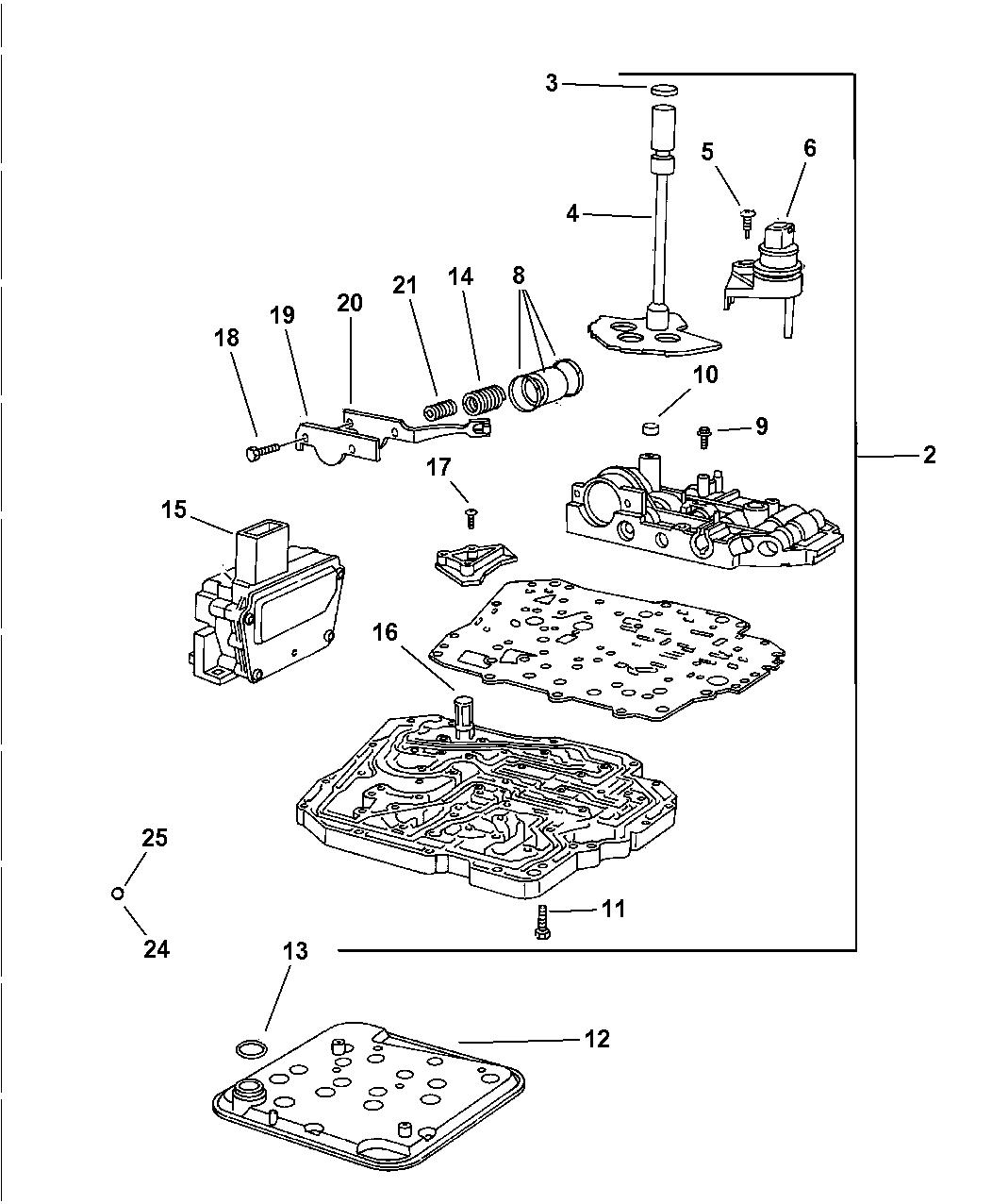 2005 Jeep Wrangler Radiator Diagram