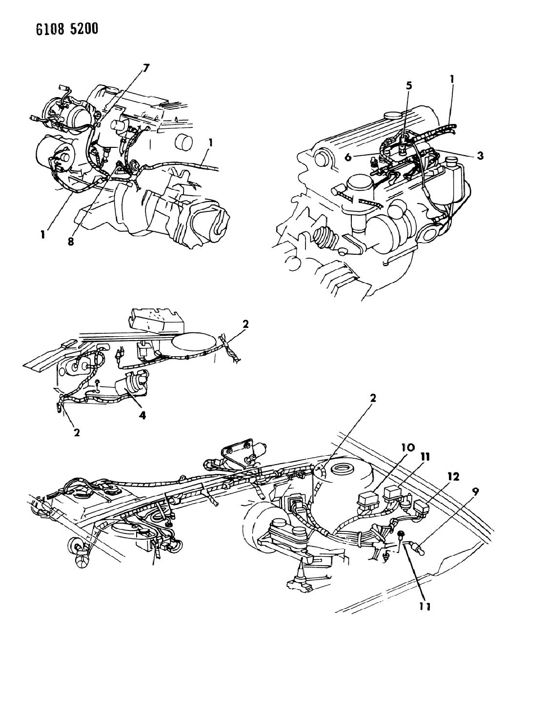 1989 Chrysler Lebaron Auto Wiring Diagram Schematic