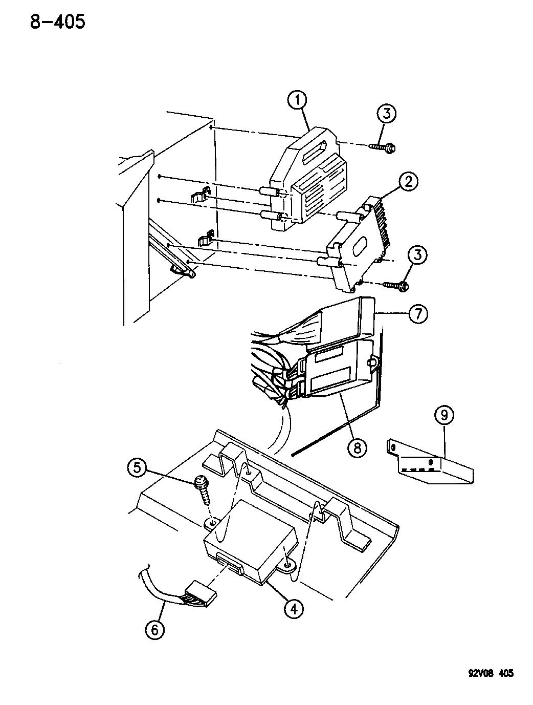 1994 Dodge Viper Modules Mopar Parts Giant Wiring Diagram