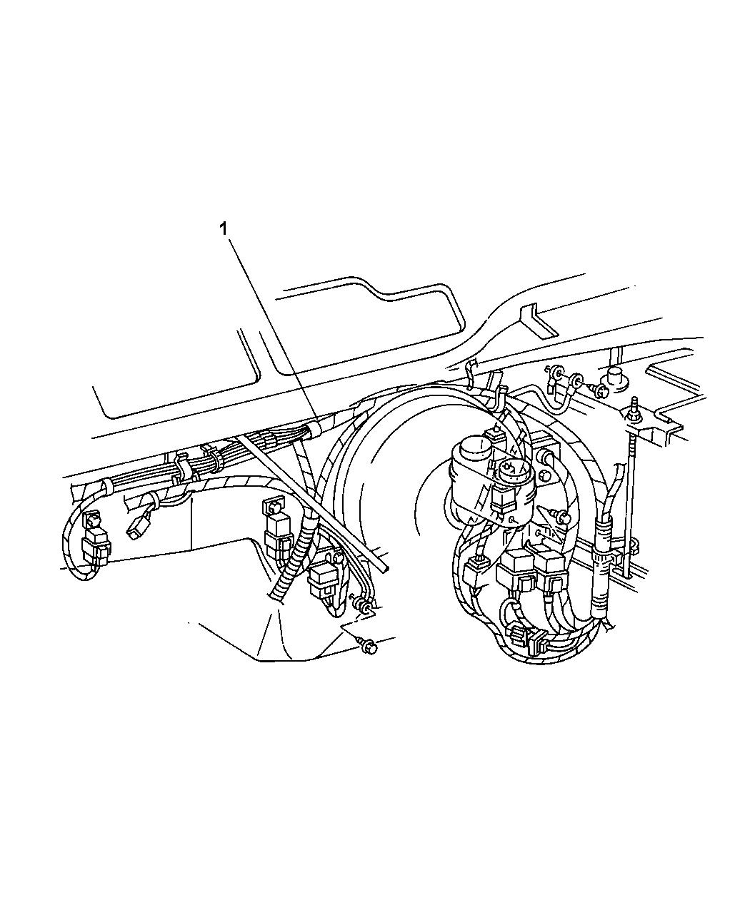 2003 Jeep Liberty Wiring - Headlamp & Dash