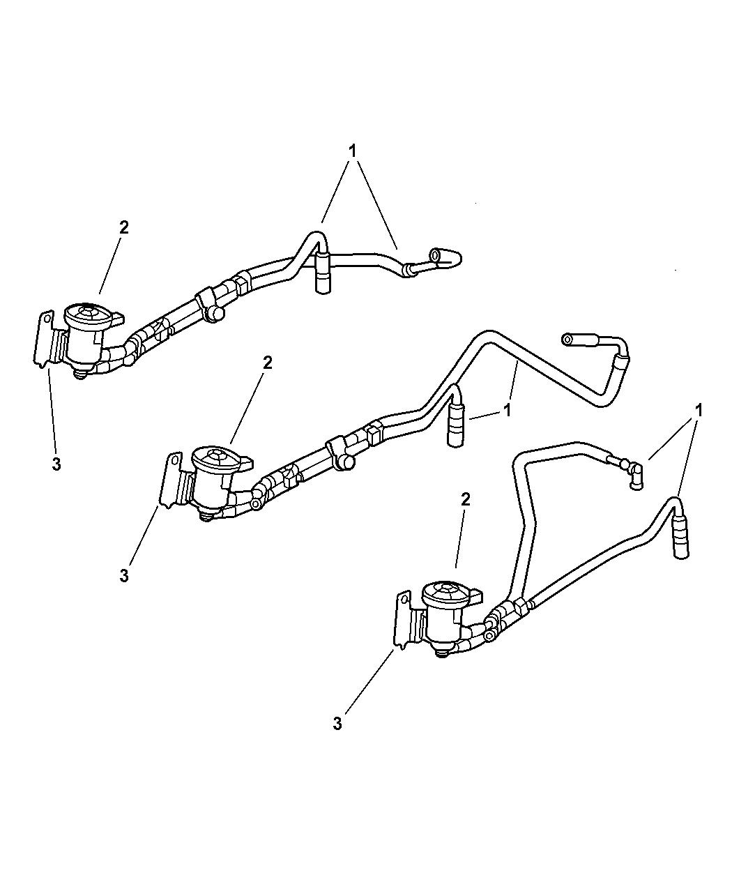 2001 dodge caravan emission harness