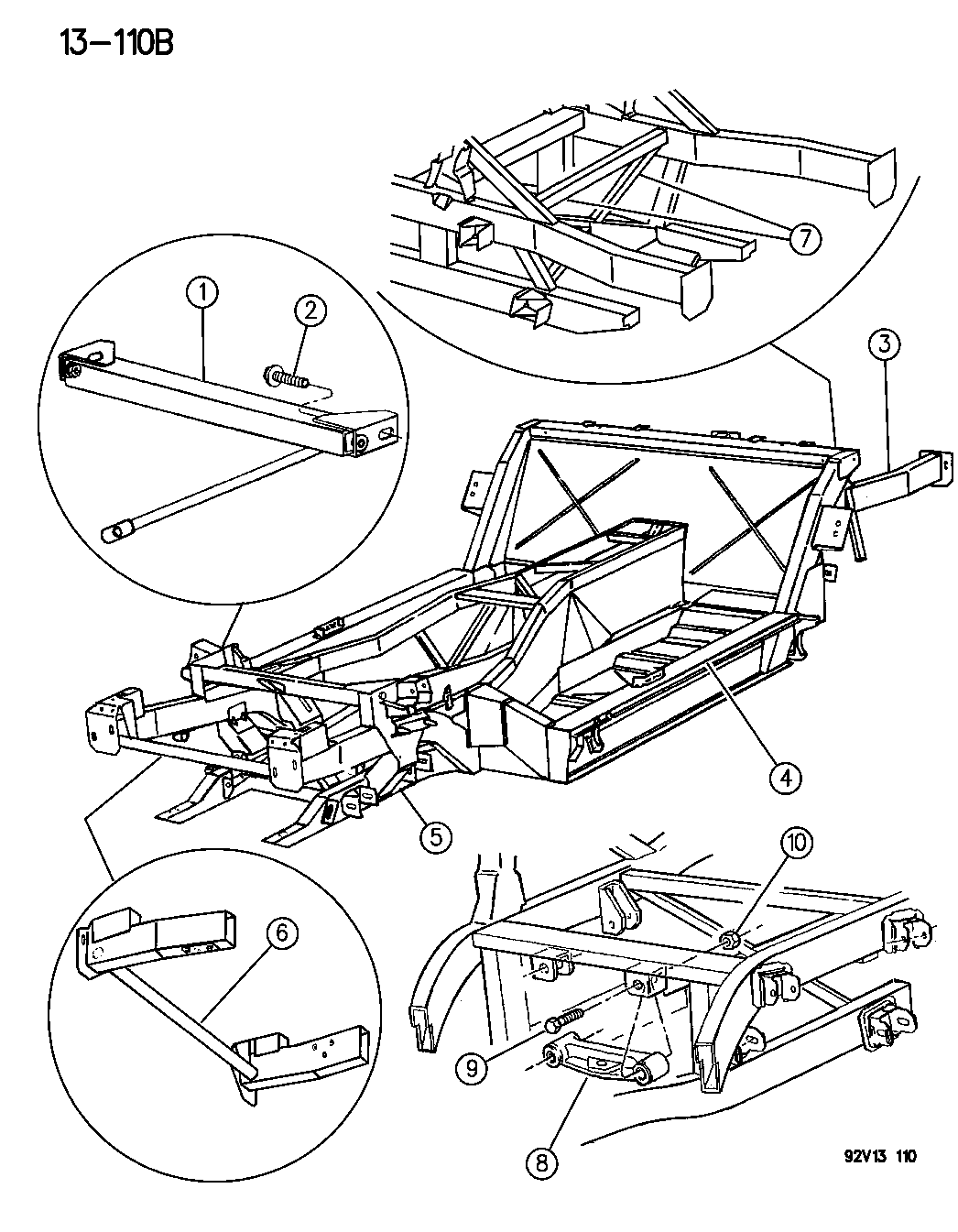 1996 Dodge Viper Frame