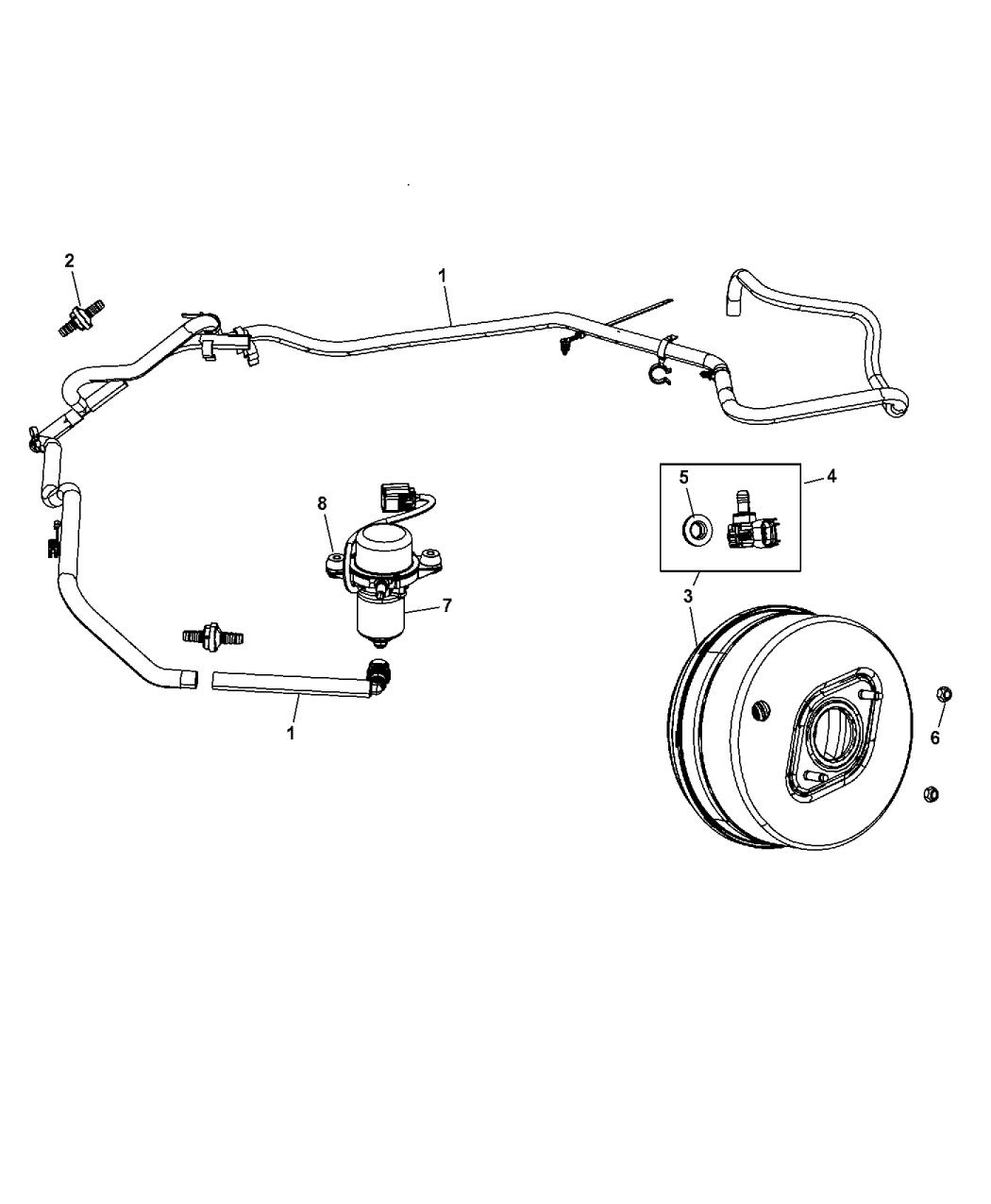 Marvelous 2012 Jeep Grand Cherokee Booster Pump Vacuum Power Brake Wiring 101 Ouplipimpapsstreekradiomeanderfmnl