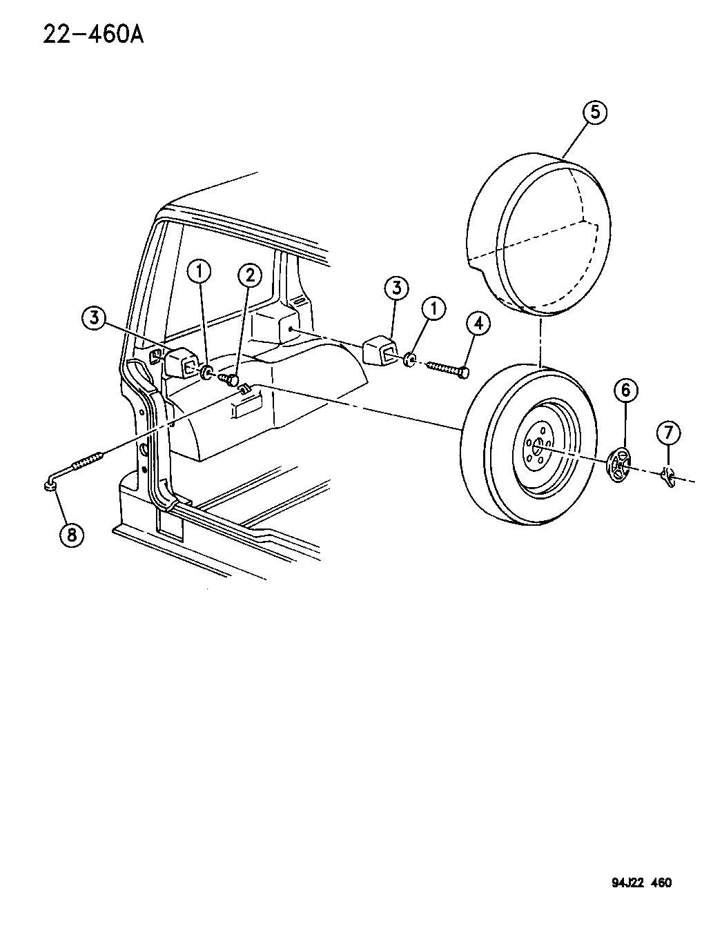 1995 jeep cherokee engine diagram 1995 jeep grand cherokee spare wheel  inside mounting  1995 jeep grand cherokee spare wheel