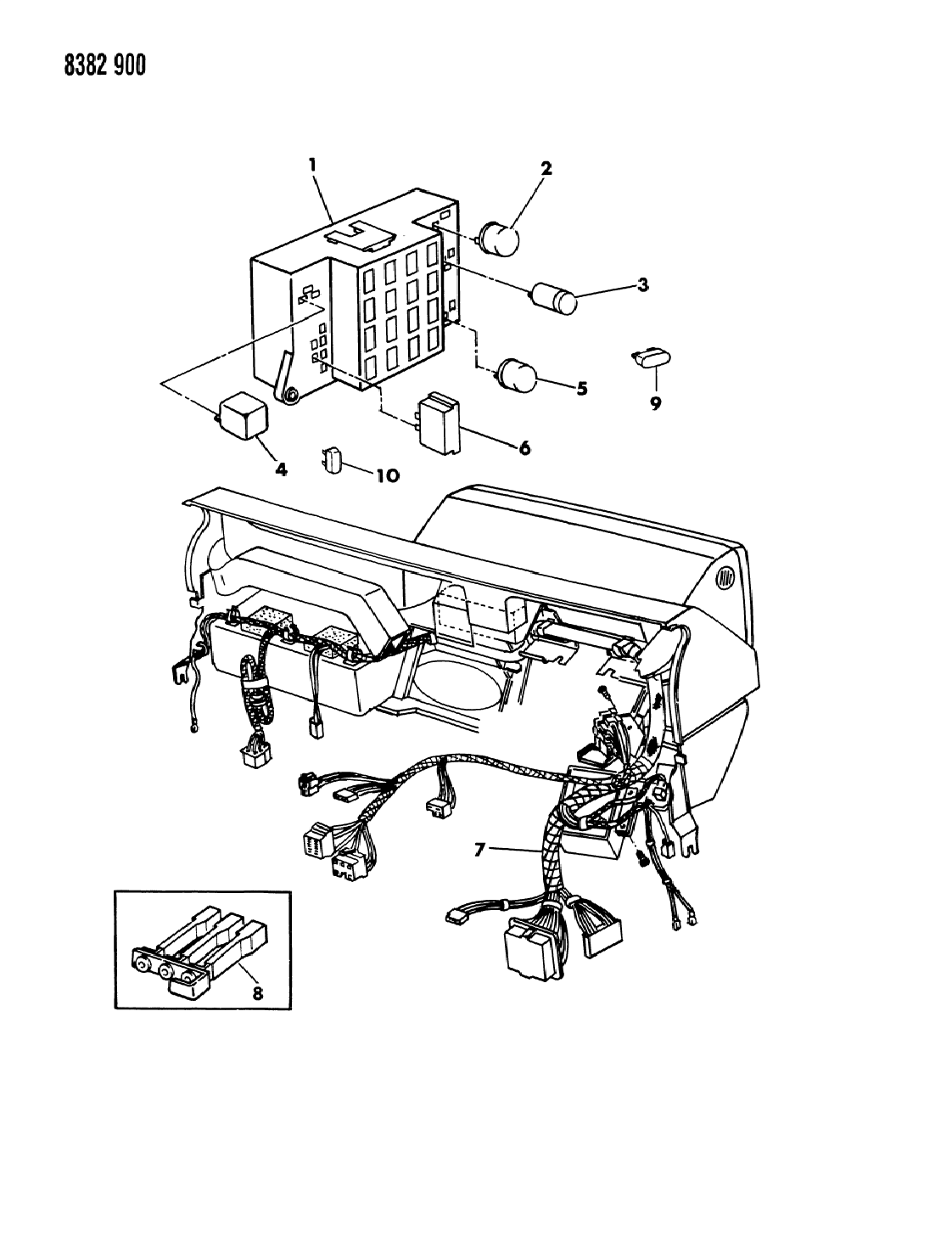 1987 dodge ram wiring diagram