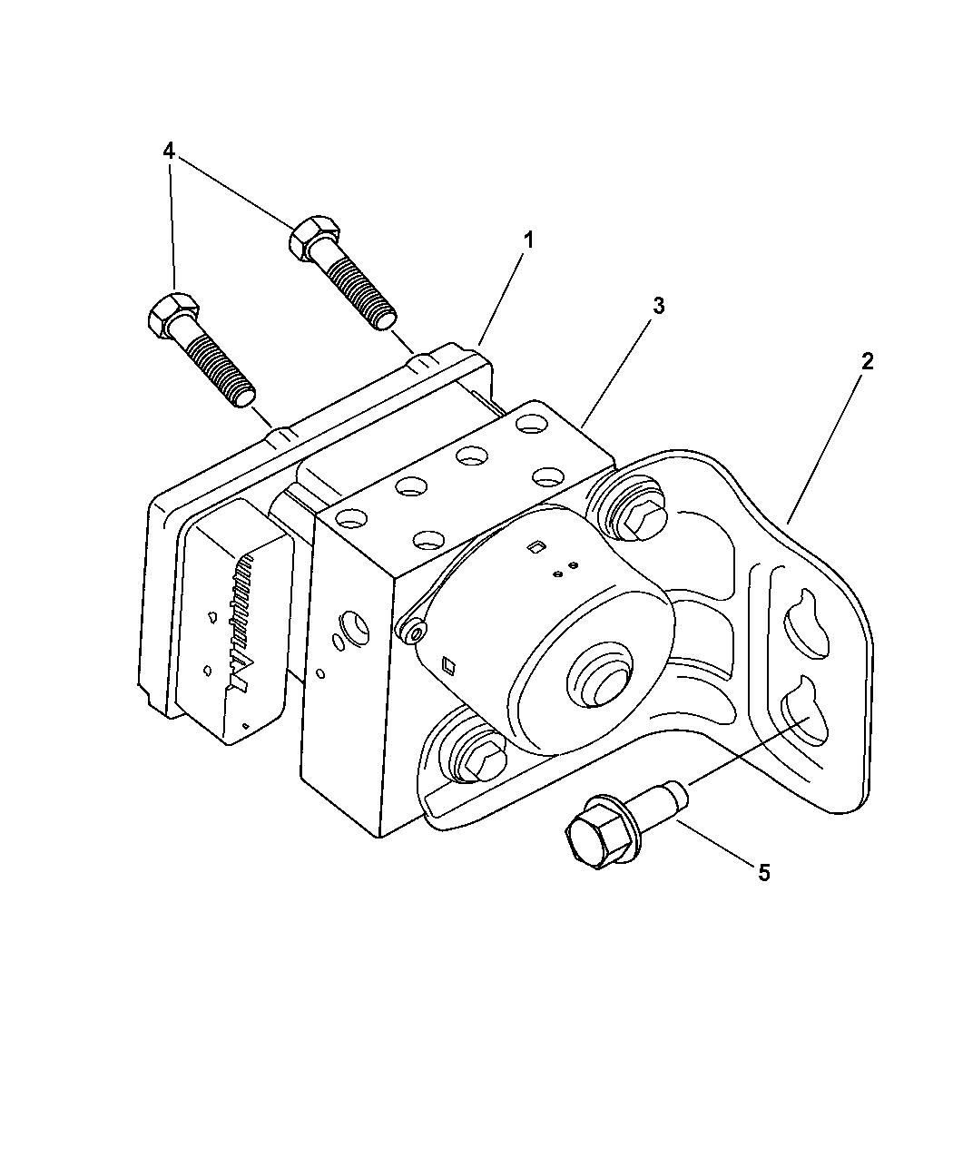 Genuine Mopar MODULE-ANTI-LOCK BRAKES