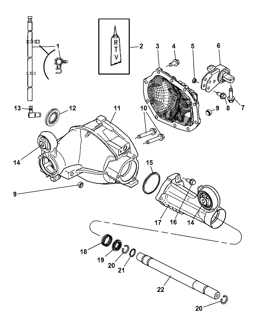 2008 Jeep Grand Cherokee Parts Diagram
