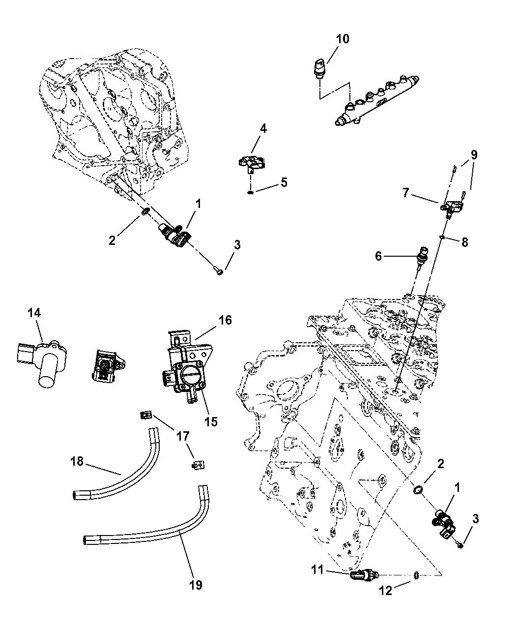 Genuine Dodge SENSOR-MAP