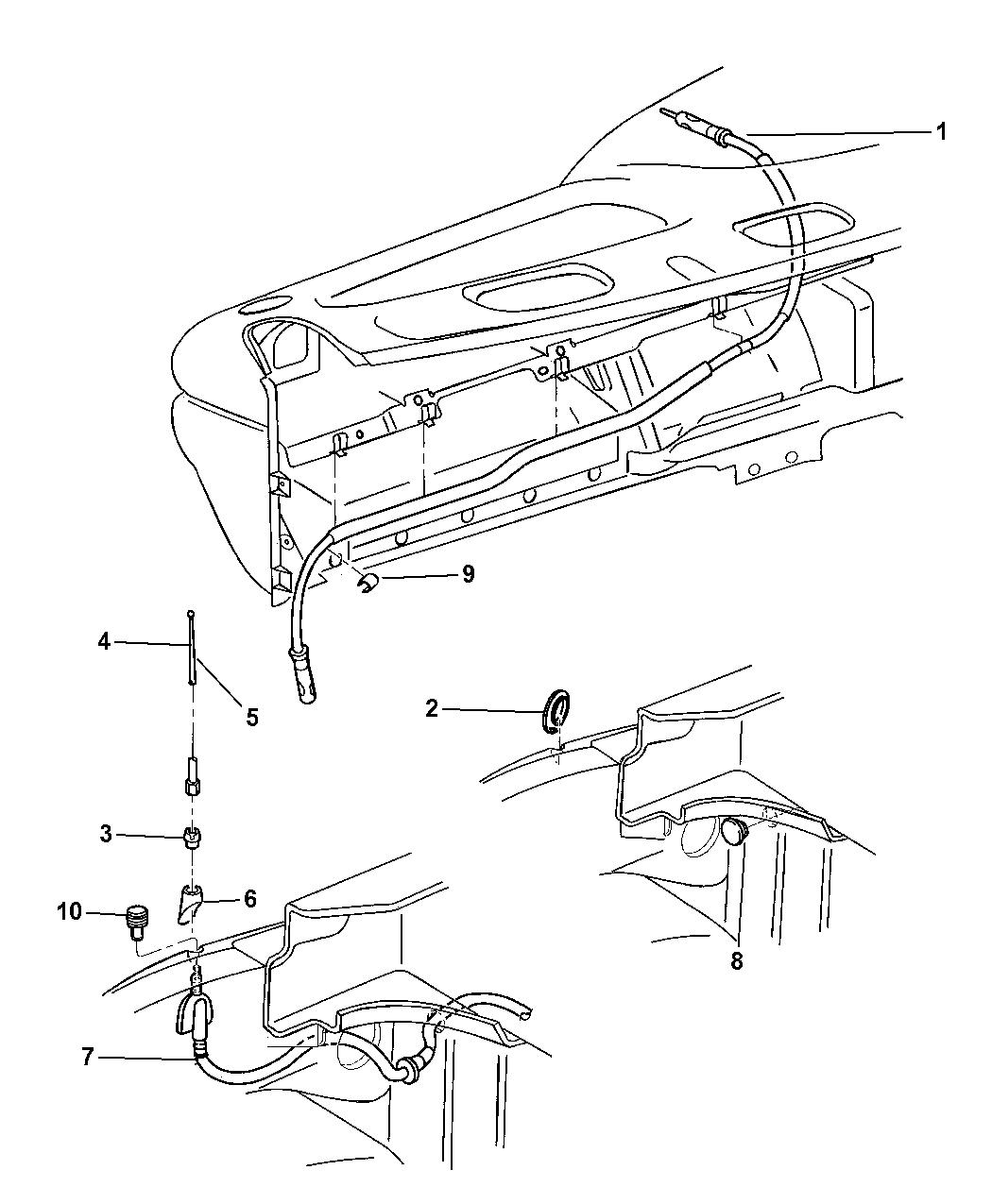 Genuine Mopar CABLE-ANTENNA