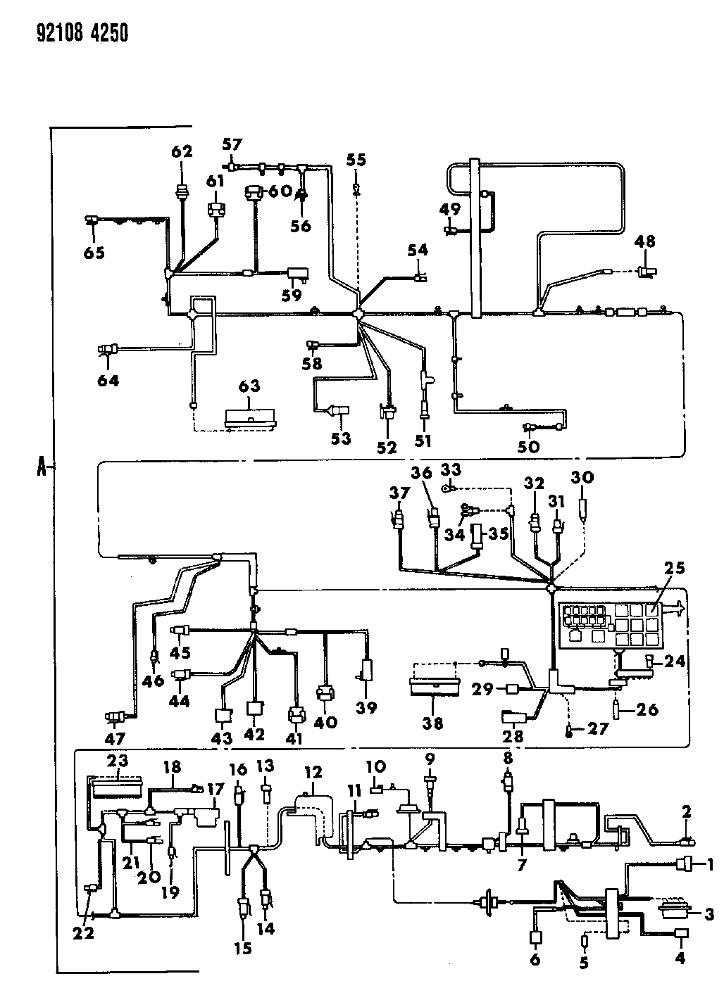 1992 Chrysler New Yorker Fifth Avenue Wiring