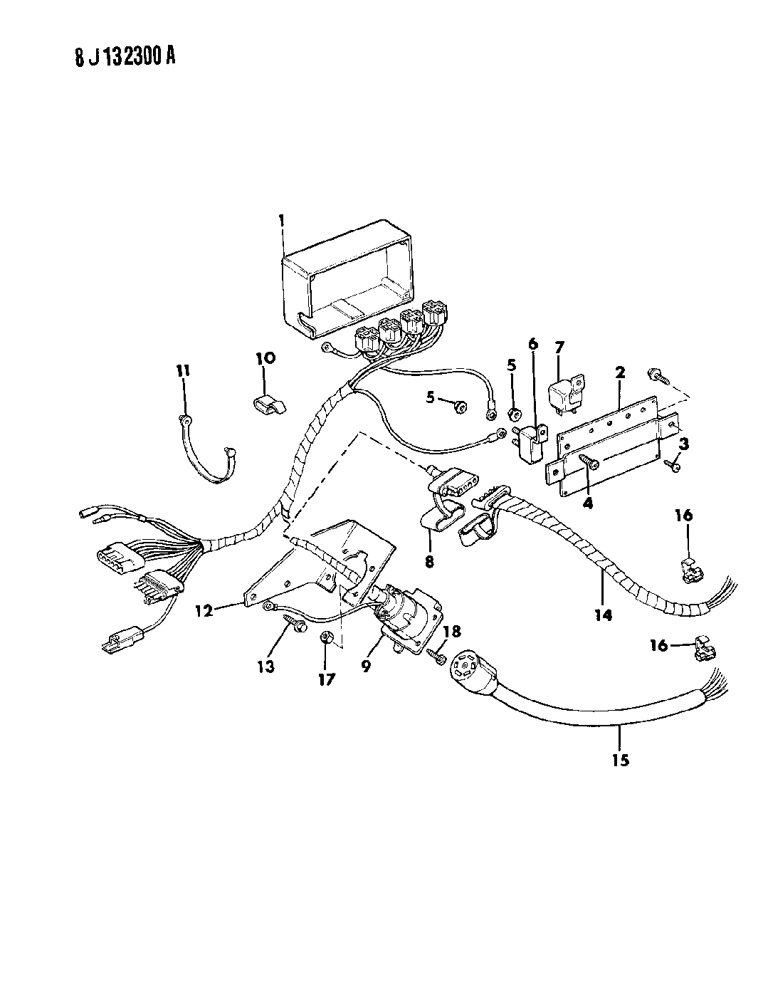 1988 Jeep Grand Wagoneer Wiring