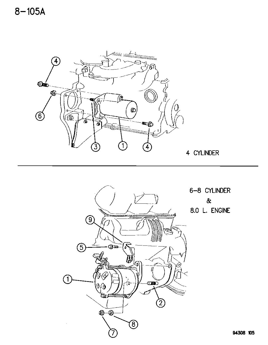 53005984 Genuine Mopar Starter