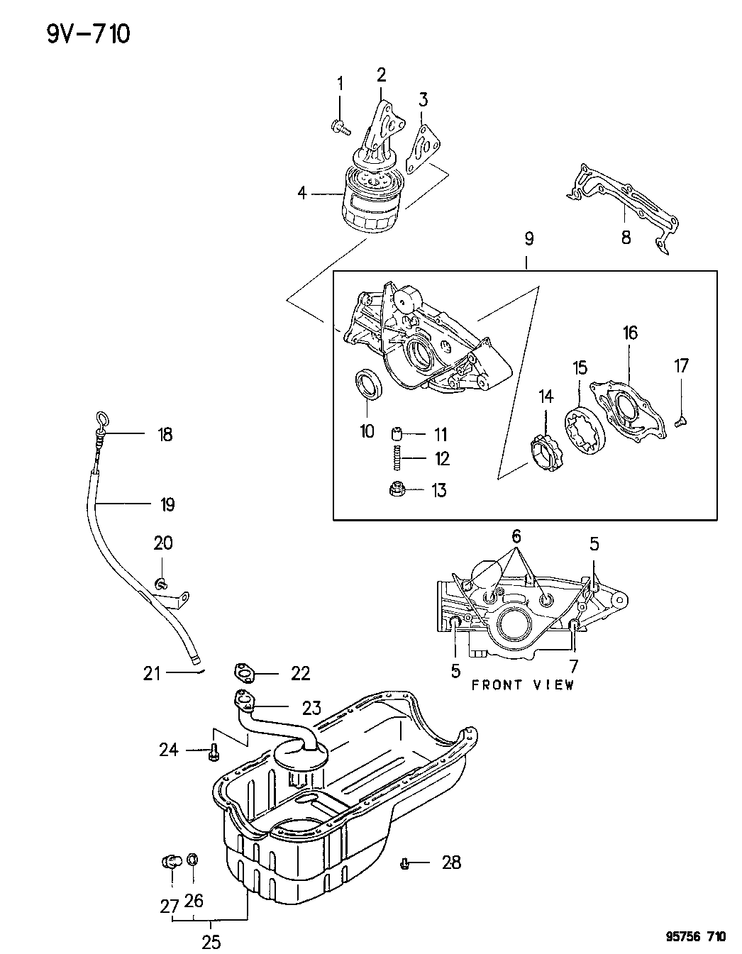 dodge stealth engine diagram