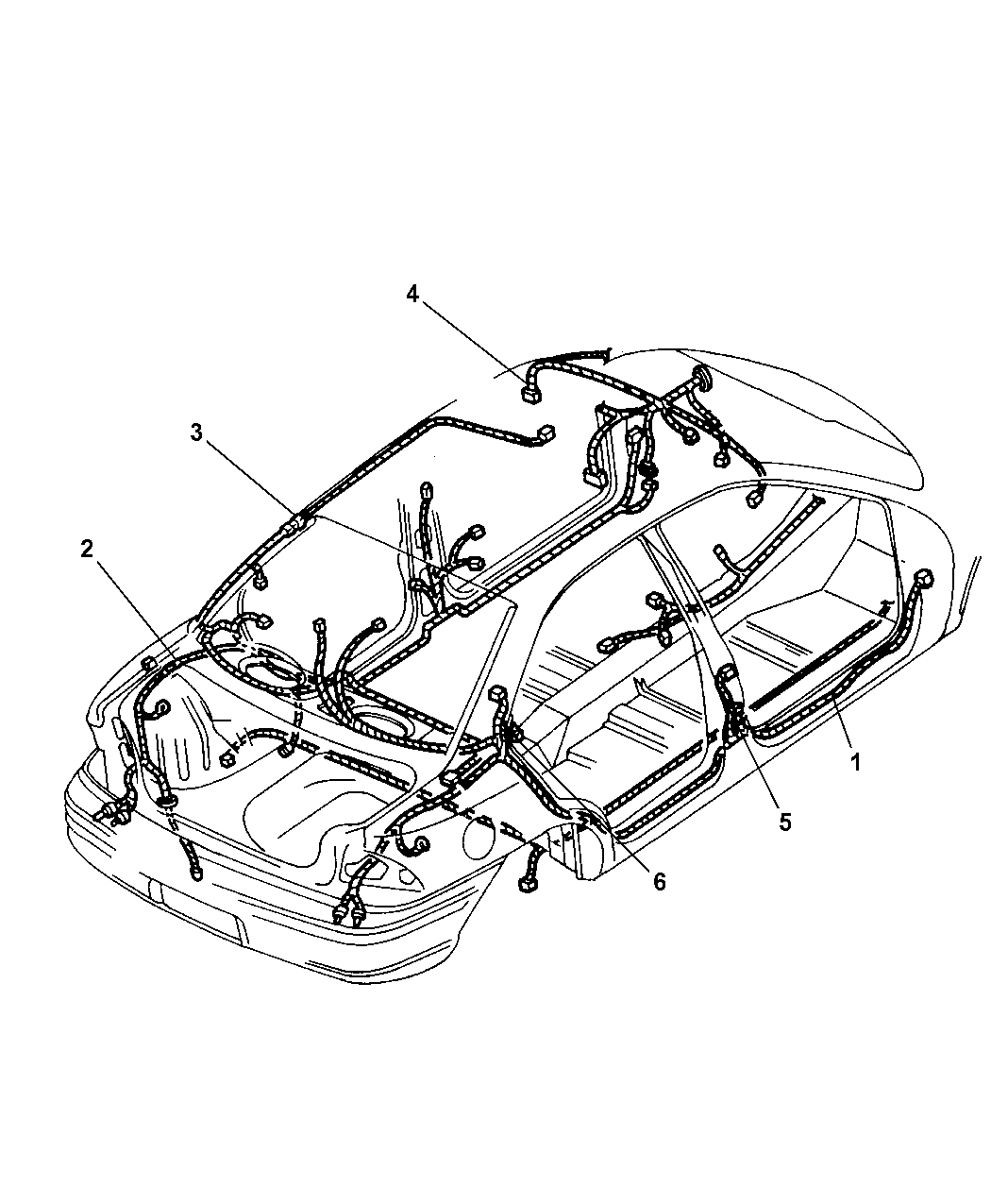 2000 Dodge Neon Side Mirror Wiring Diagram Library Body Accessory