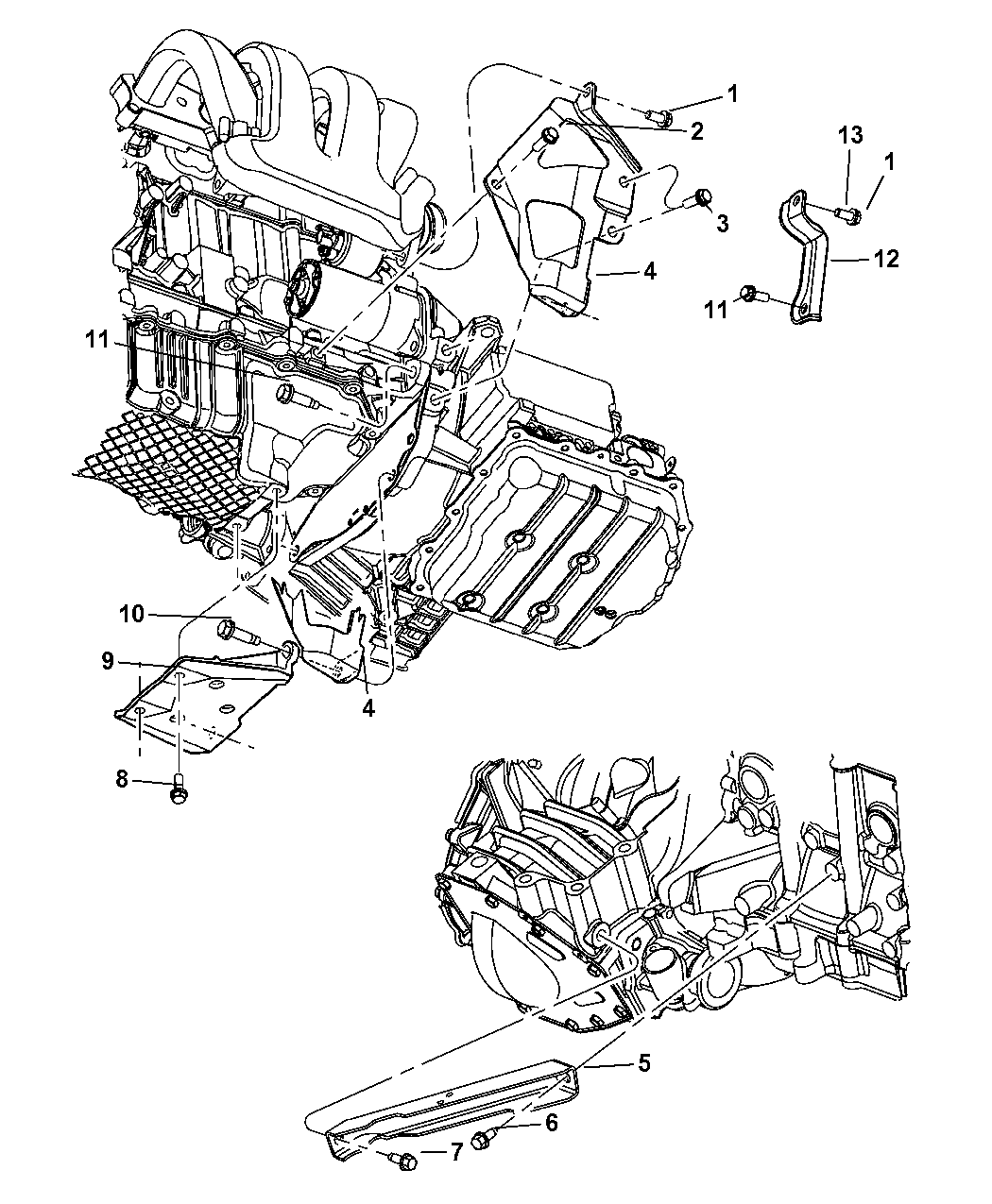2003 Dodge Neon Engine Diagram