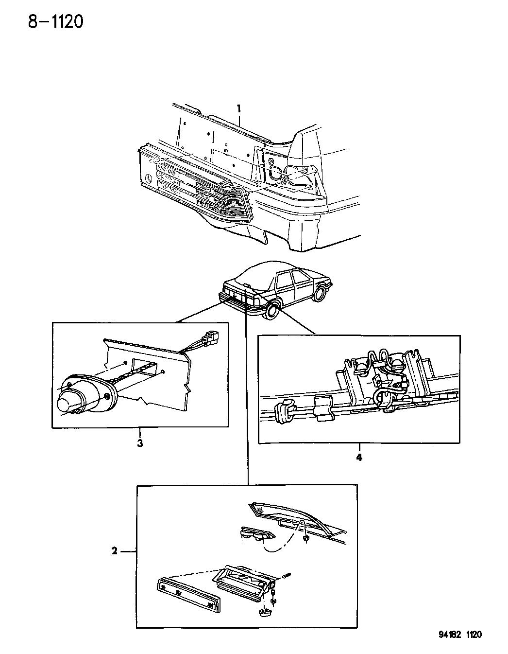 94 Dodge Shadow Wiring Diagram