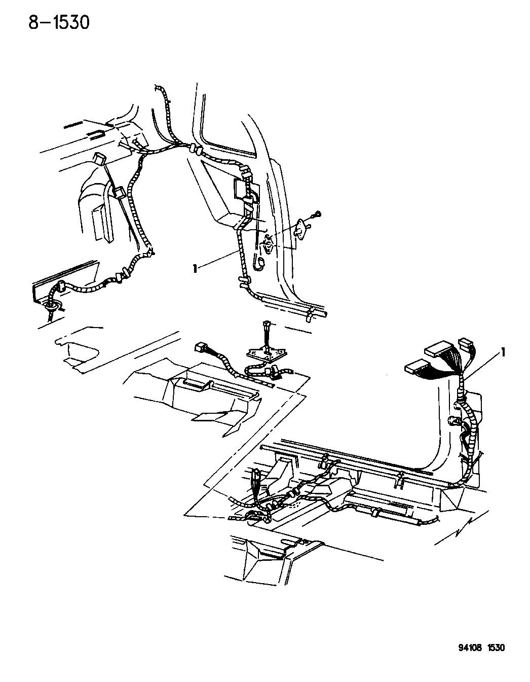 4625761 Genuine Mopar Wiring Front End Lighting 94 Chrysler Lebaron Diagram 1994 Gtc Body Accessories