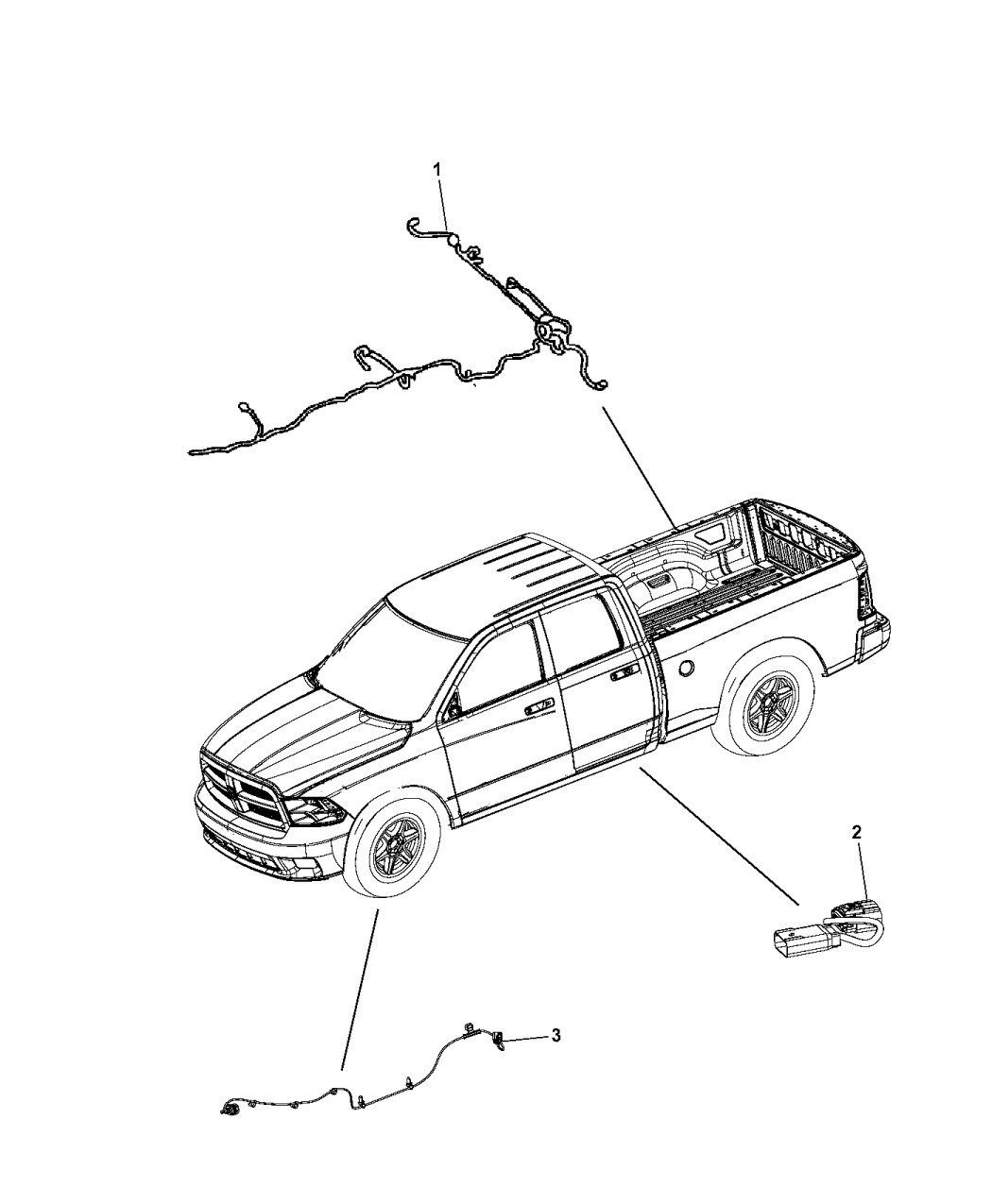 2015 Ram 5500 Wiring Chassis  U0026 Underbody