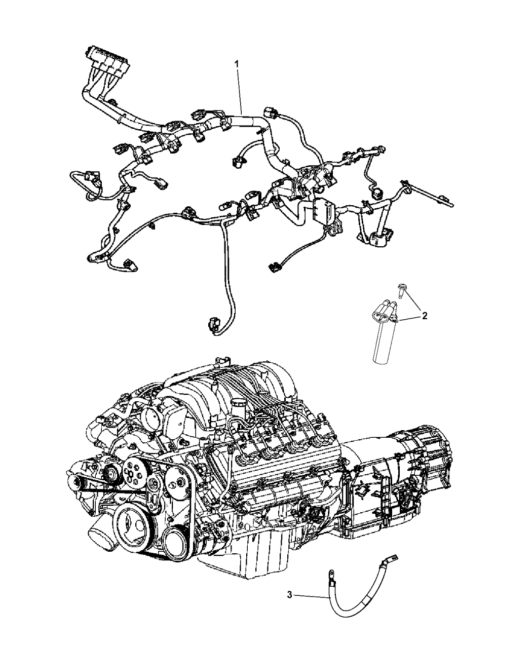 jeep grand cherokee engine wiring diagram 5035358ab genuine    jeep       wiring    injector  5035358ab genuine    jeep       wiring    injector