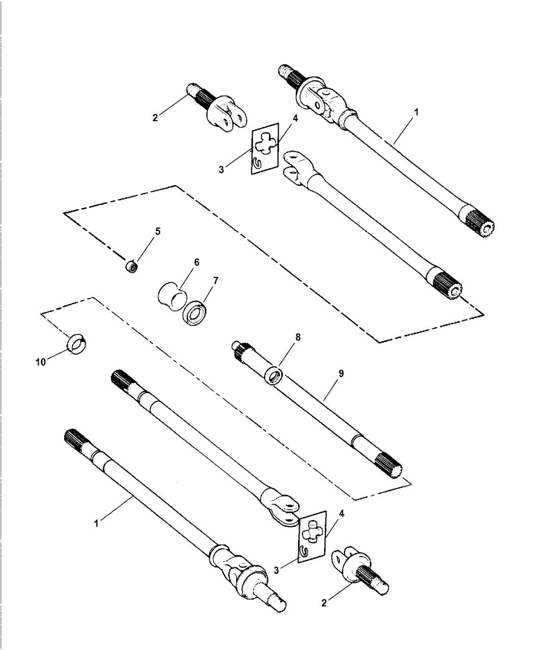 5010875aa Genuine Mopar Shaft Axle