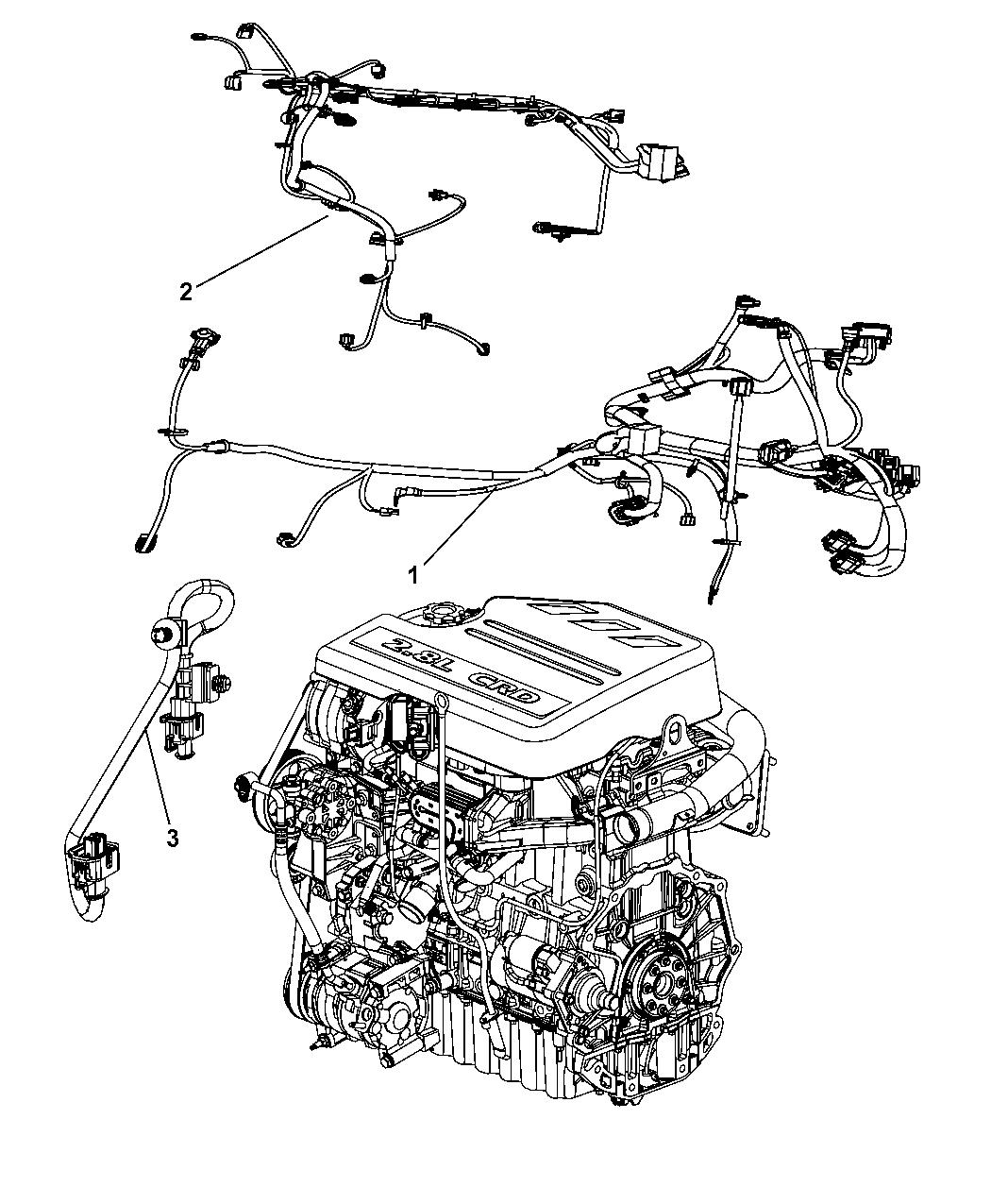 Chrysler Engine Wiring Harnes - Wiring Diagram