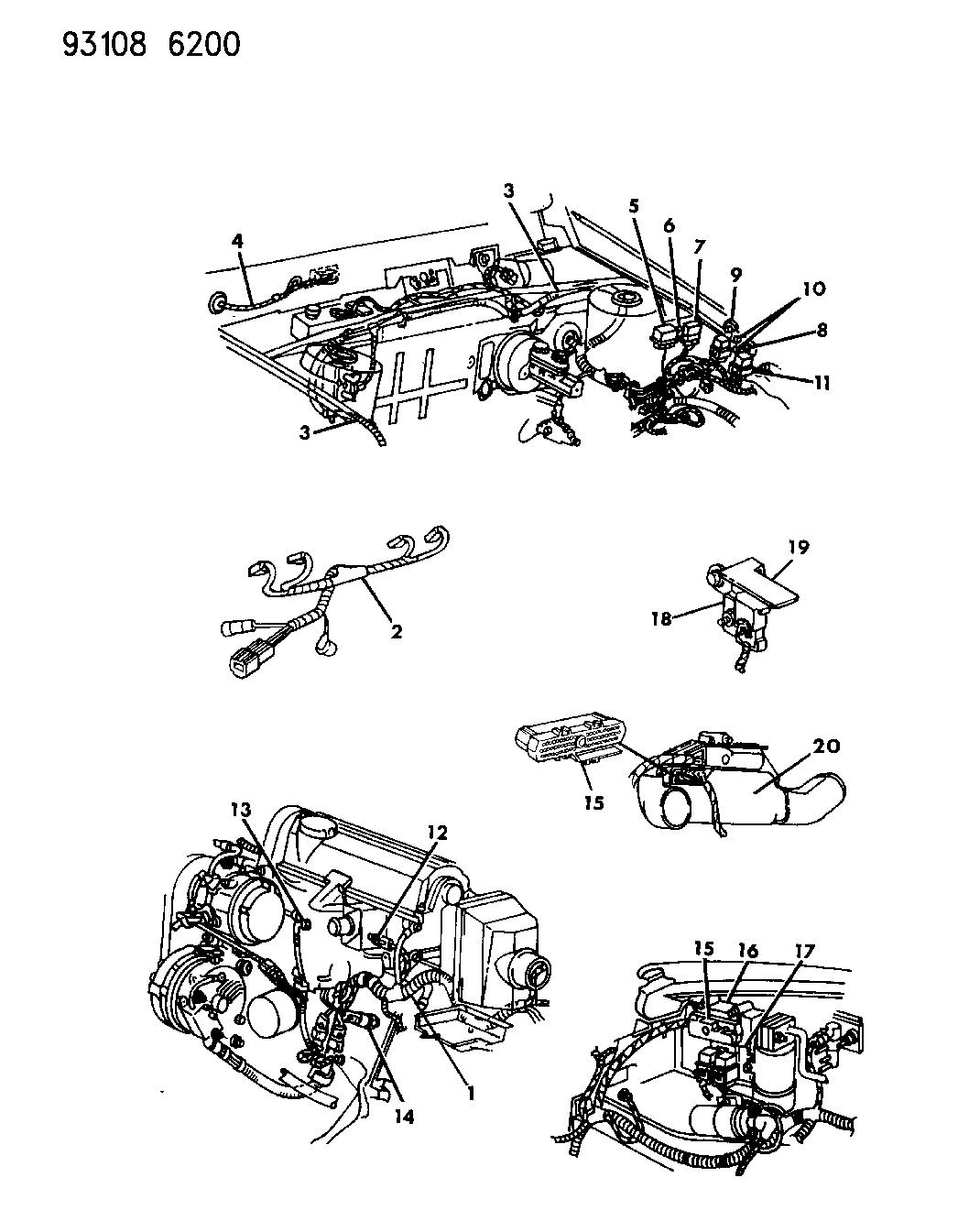 1993 Dodge Spirit Wiring Diagram