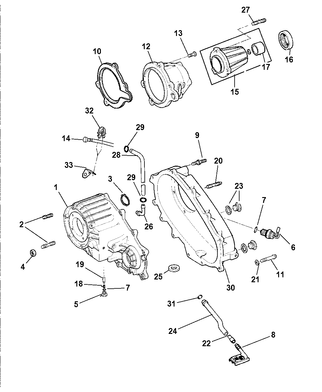 4897958AA Genuine Dodge SEAL TRANSFER CASE