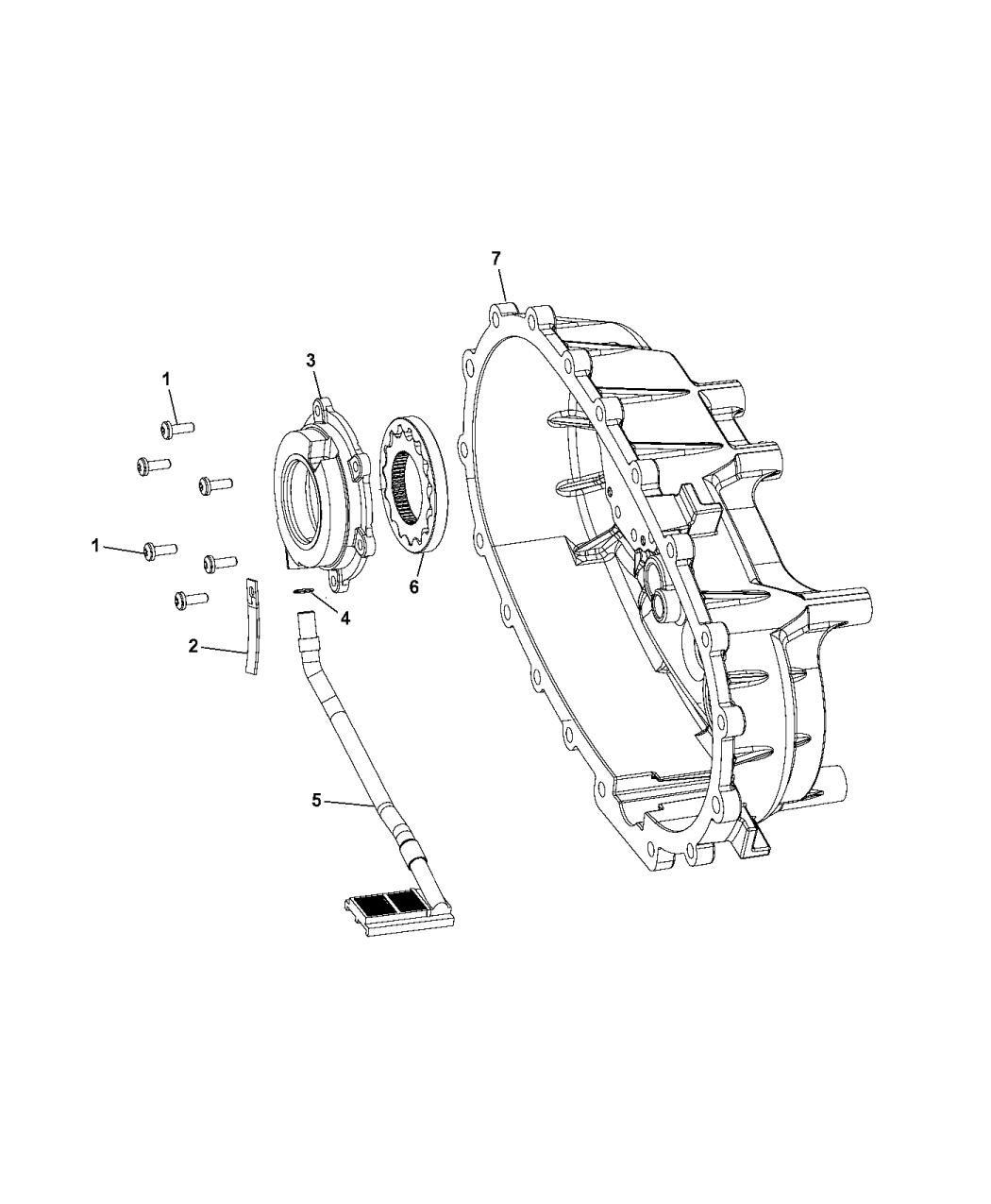 2012 Jeep Wrangler Oil Pump - Mopar Parts Giant
