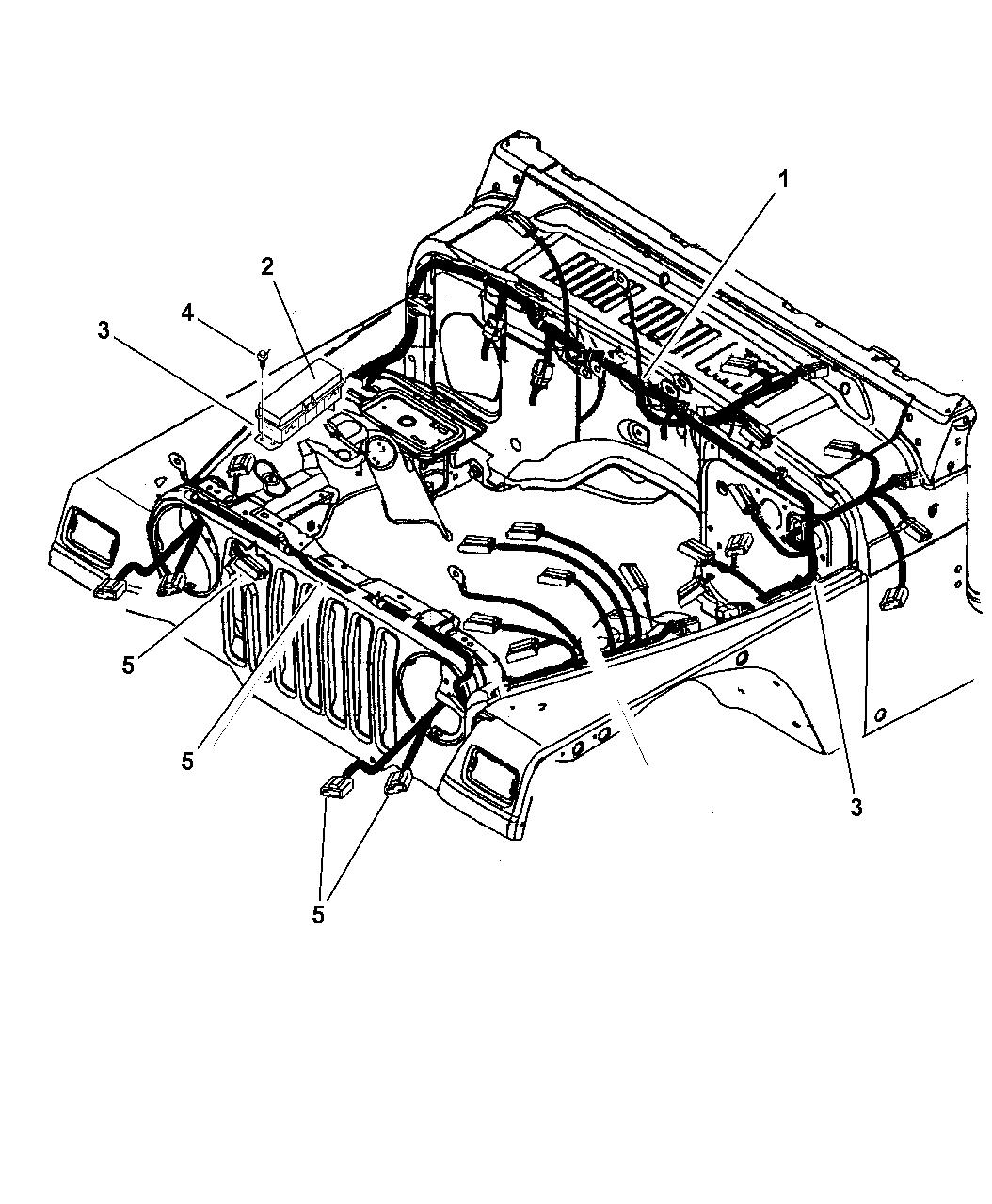 2002 jeep wrangler wiring