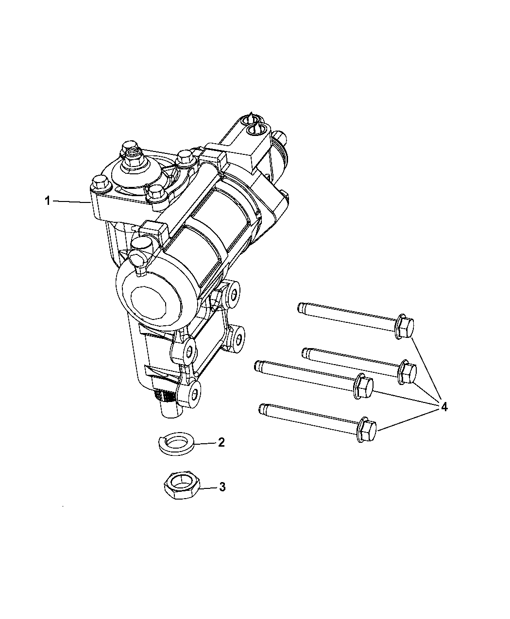 2012 jeep wrangler steering gear box