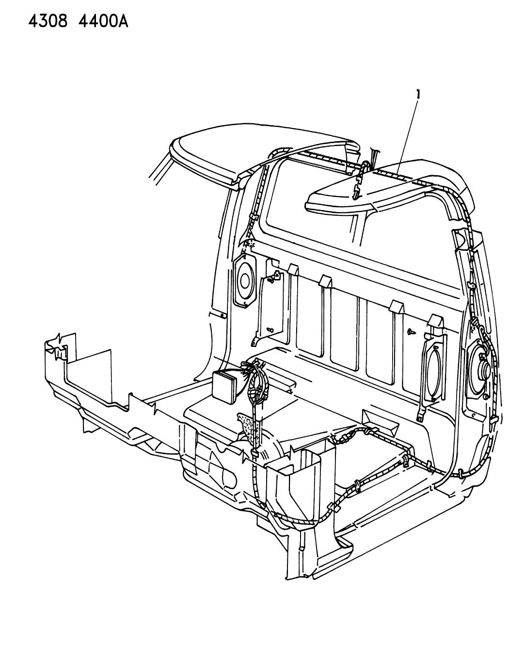 1985 Dodge D150 Wiring - Body  U0026 Accessories