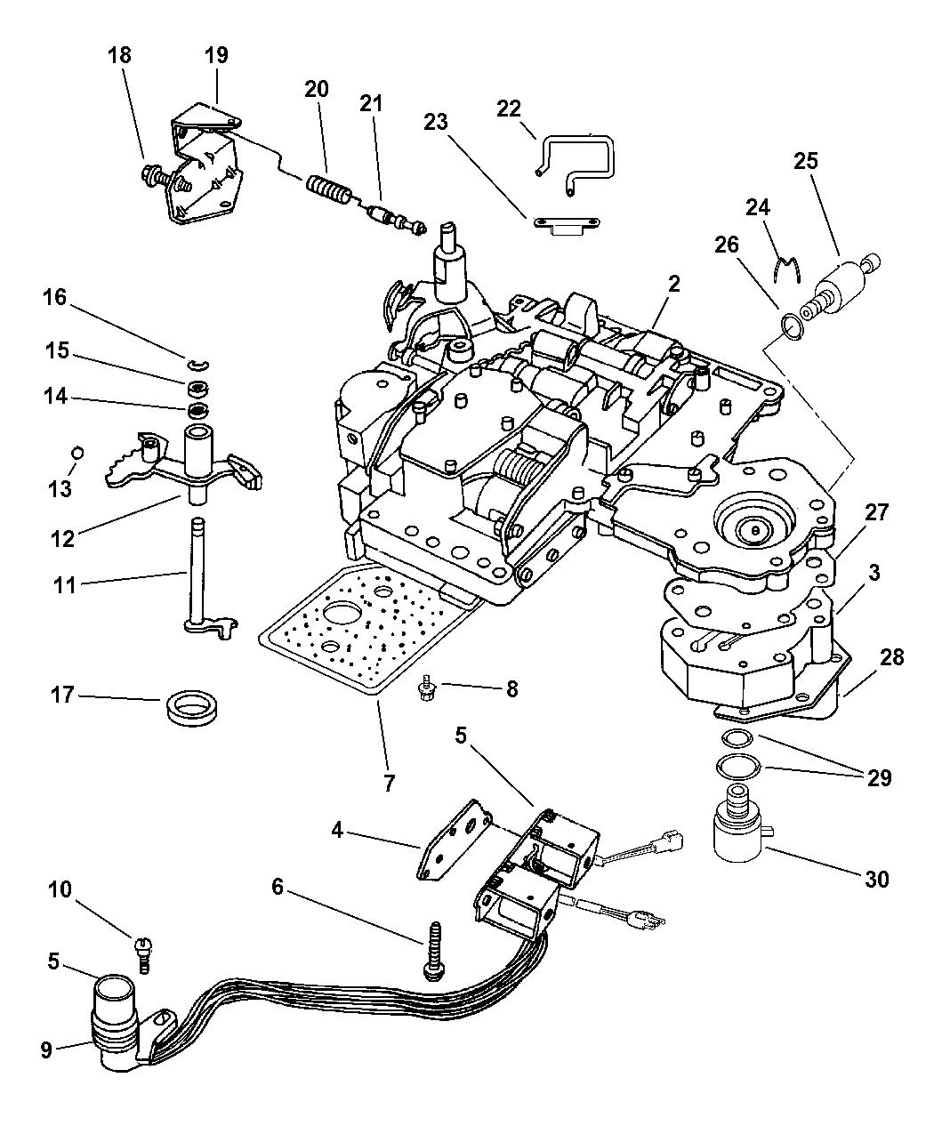 1999 dodge ram 1500 transmission parts