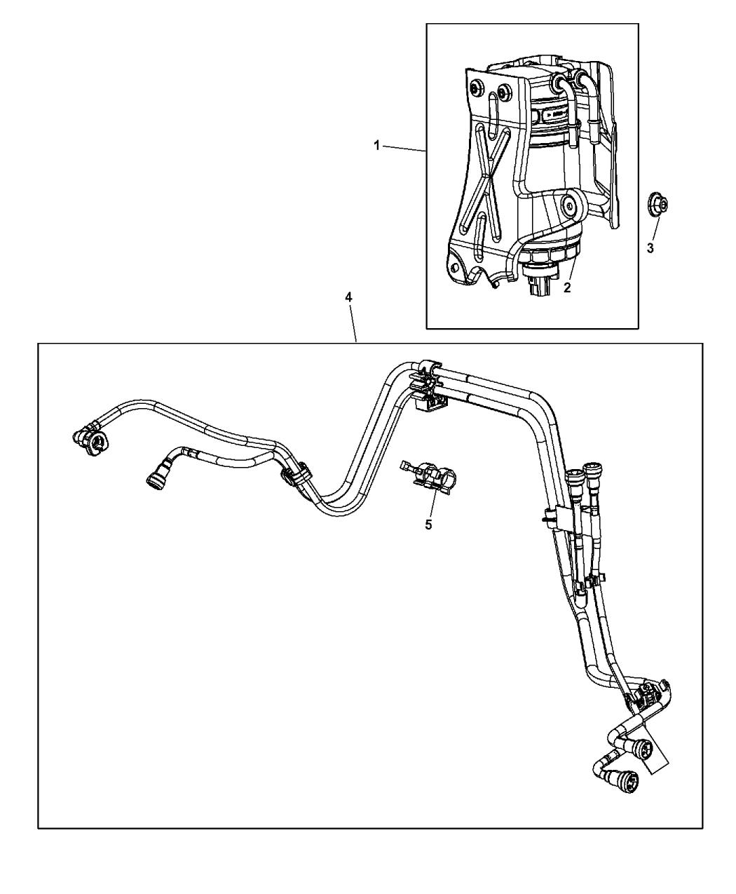 2015 Dodge Journey Fuel Filter - Mopar Parts Giant