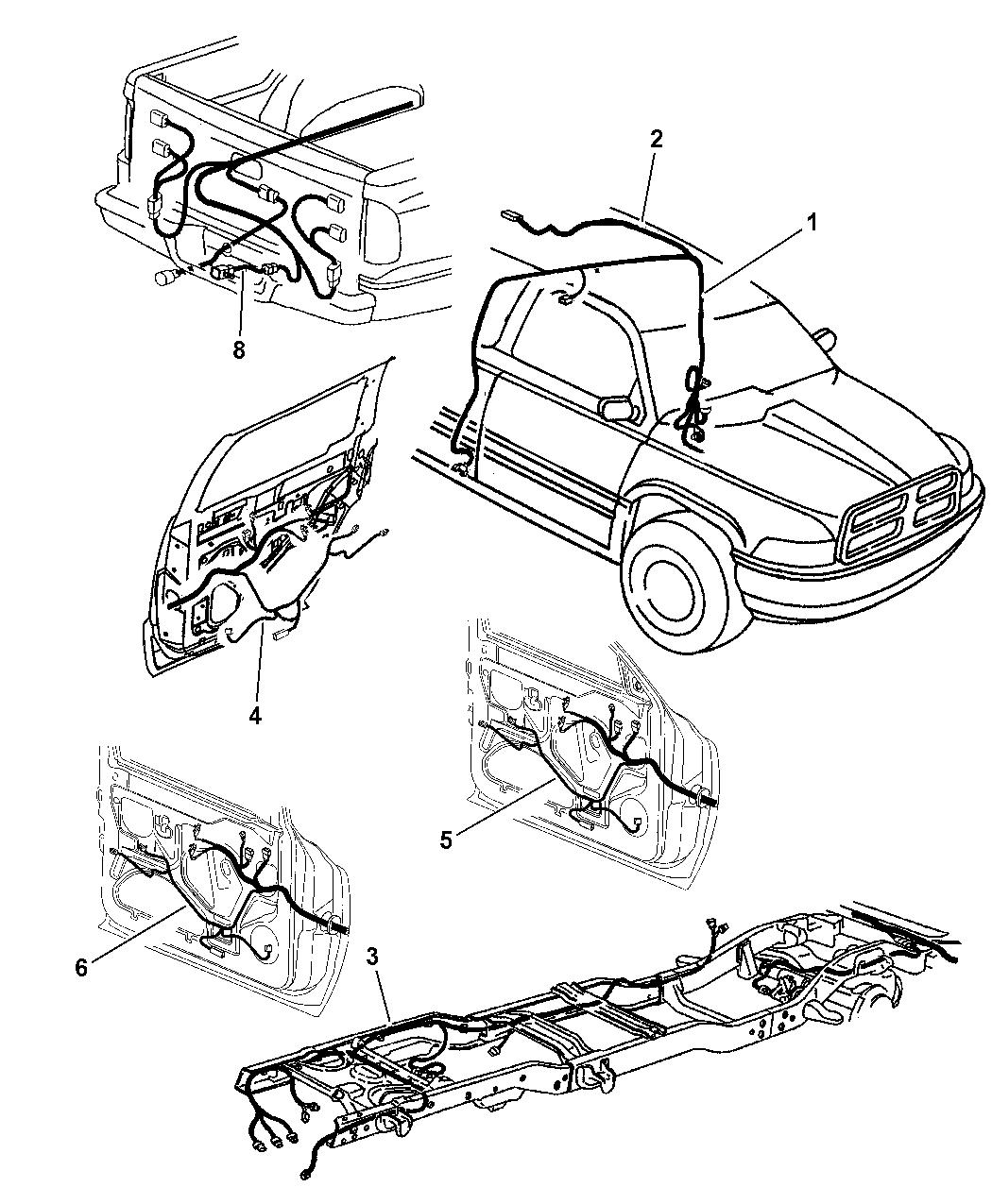 1997 Dodge Ram 2500 Wiring