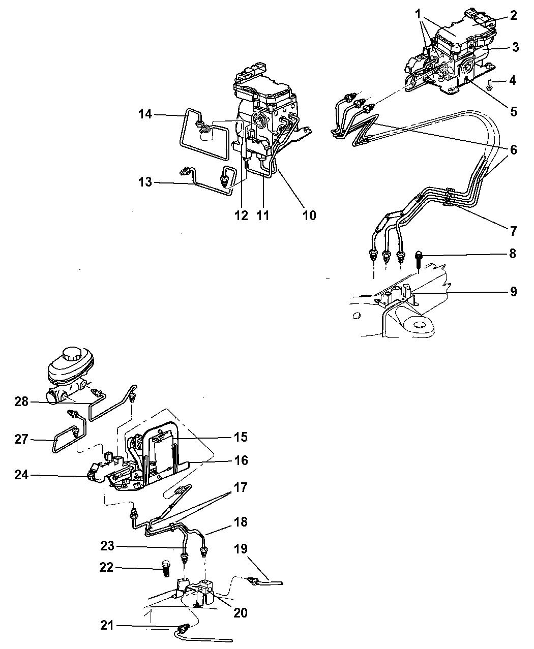 Dodge Dakota Brake Line Diagram