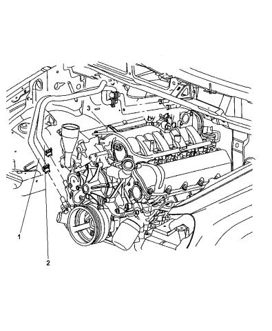 2003 Jeep Grand Cherokee Heater Hoses Mopar Parts Giant