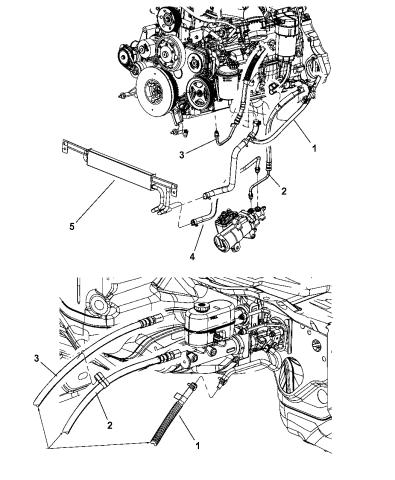 52122339AB - Genuine Mopar LINE-POWER STEERING PRESSUREMopar Parts Giant