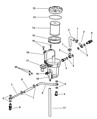[DIAGRAM_38EU]  5015581AB - Genuine Mopar FILTR PKG-FUEL | Dodge Fuel Filter Diagram |  | Mopar Parts Giant