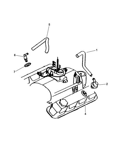 FRAM PCV Valve for 1977-1993 Dodge D150 Emission Control Crankcase bt