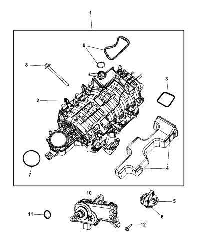 53022137AF - Genuine Mopar VALVE-SHORT RUNNER VALVEMopar Parts Giant