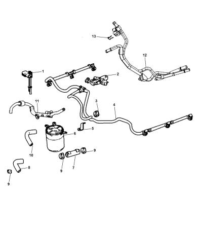 5175592ac - genuine mopar tube-fuel  mopar parts giant