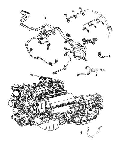 Wiring - Engine - 2013 Dodge Durango | 2013 Dodge Durango Transmission Wiring Diagram |  | Mopar Parts Giant