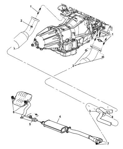 CHRYSLER OEM Exhaust-Catalytic Cnvrtr Stud 6507880AA