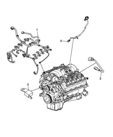 wiring - engine - 2013 dodge challenger  mopar parts giant