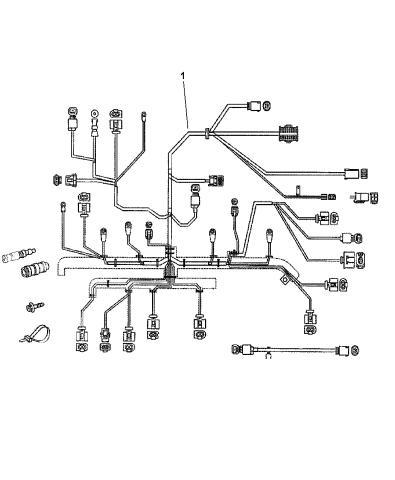 2003 Dodge Sprinter 2500 Wiring Engine Mopar Parts Giant