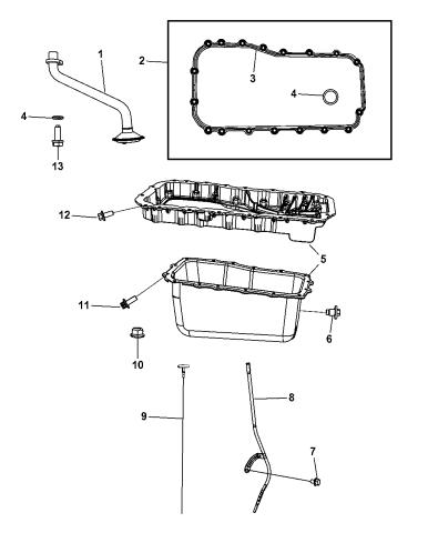 Genuine Mopar Indicator-Engine Oil Level 68033478AA