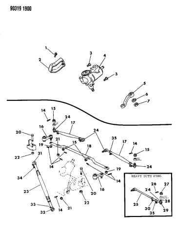 Belt Tensioner Assembly for 1992-2003 Dodge Ram Jeep Interchange #38116 Bodeman #ALT04314