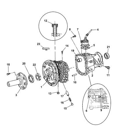 Case & Related Parts of Manual Transmission - 2001 Dodge Ram 1500 Quad &  Club CabMopar Parts Giant