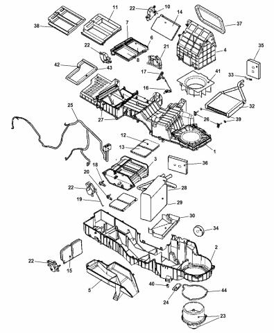 68004242AA - Genuine Mopar EVAPORATOR-AIR CONDITIONINGMopar Parts Giant